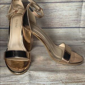 BAMBOO Shoes - Strap heels